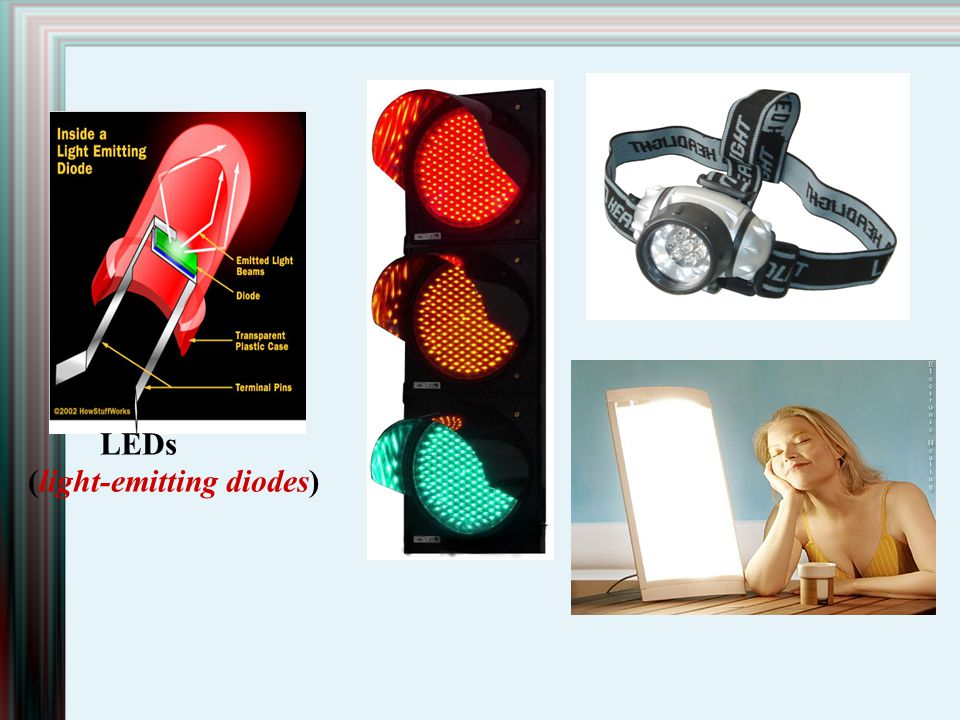 LEDs (light-emitting diodes)‏