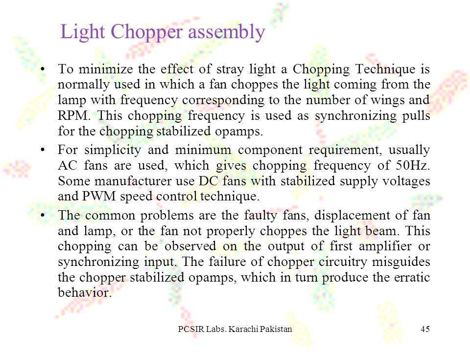 Light Chopper assembly