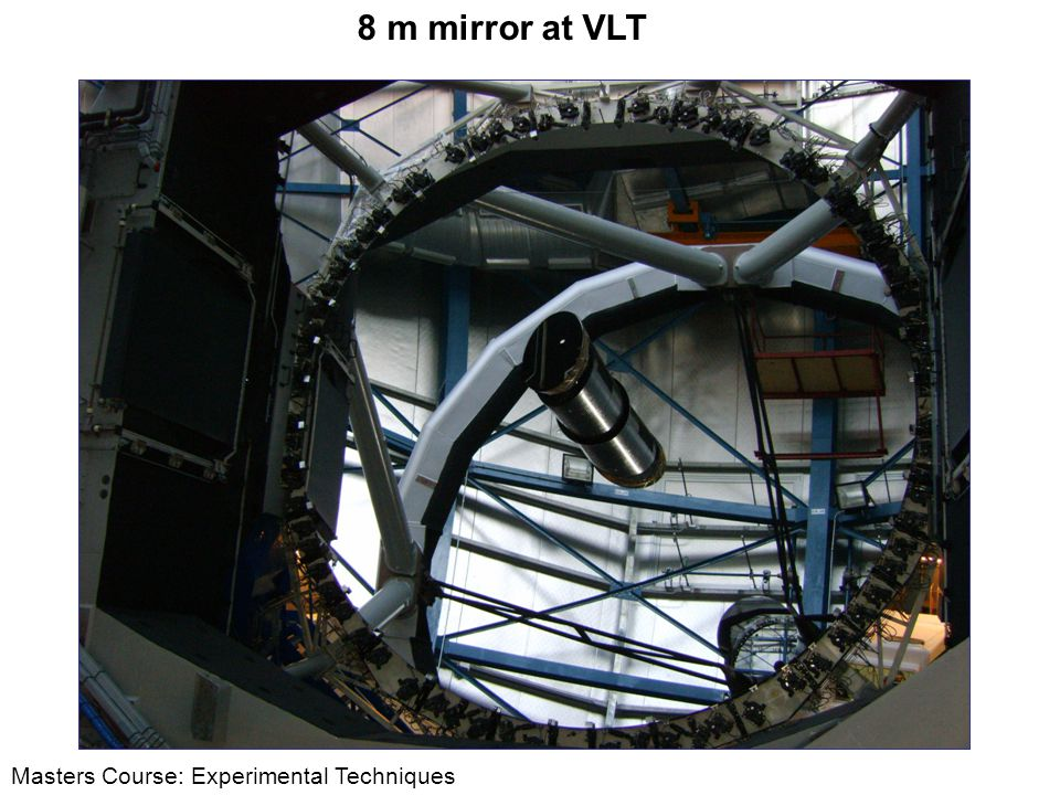 8 m mirror at VLT