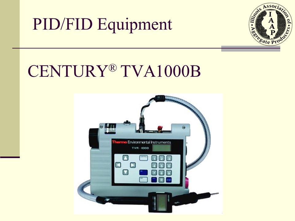PID/FID Equipment CENTURY® TVA1000B