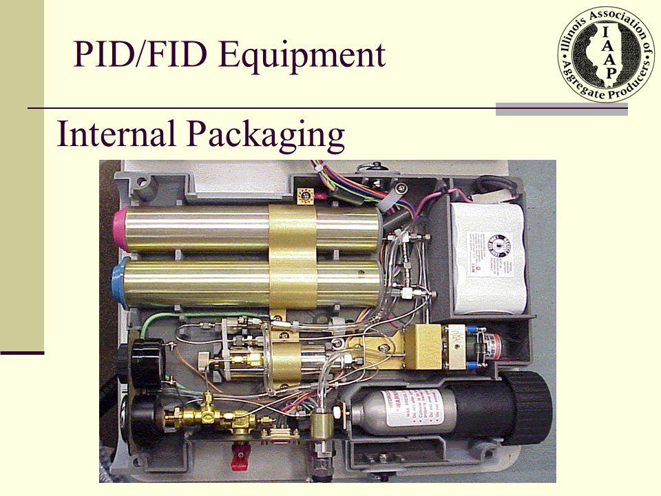 PID/FID Equipment Internal Packaging
