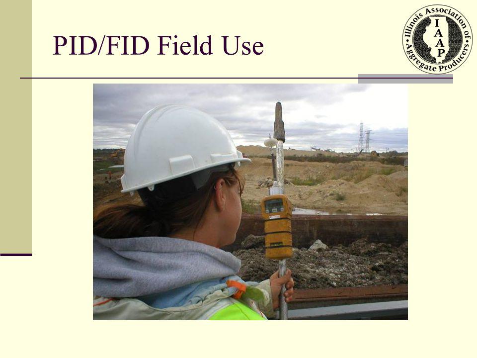 PID/FID Field Use
