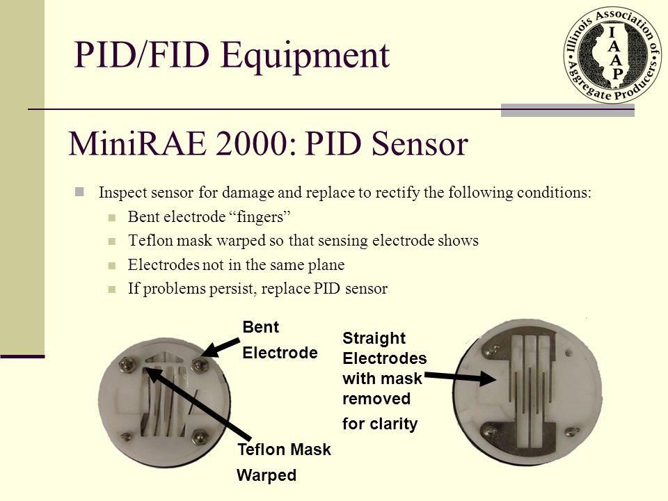 PID/FID Equipment MiniRAE 2000: PID Sensor