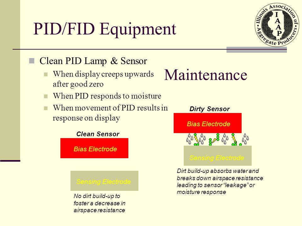 PID/FID Equipment Maintenance Clean PID Lamp & Sensor