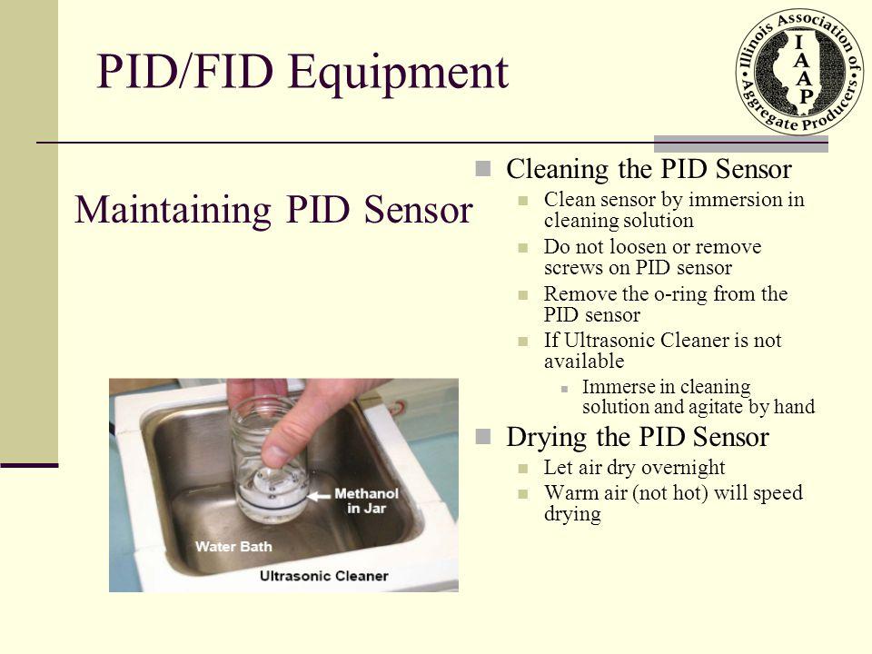 Maintaining PID Sensor