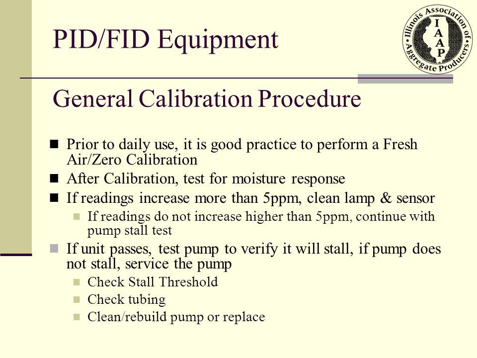 General Calibration Procedure