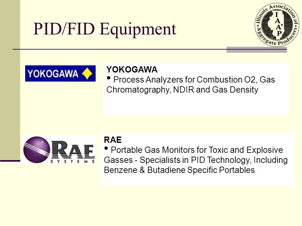 PID/FID Equipment . YOKOGAWA