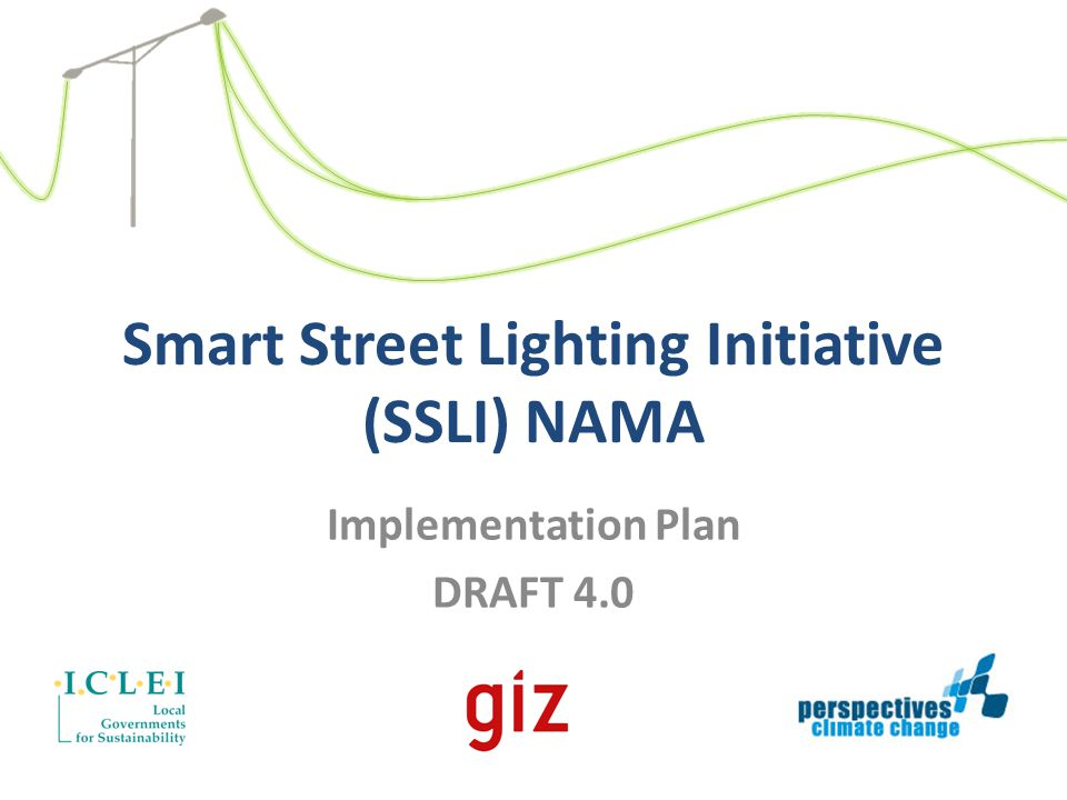 Smart Street Lighting Initiative (SSLI) NAMA