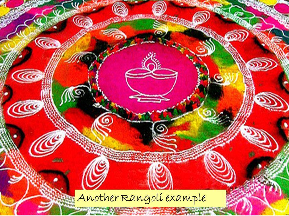 Another Rangoli example