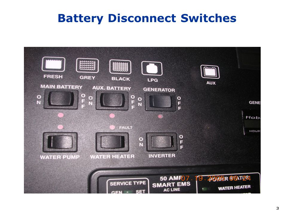 Battery Disconnect Switches