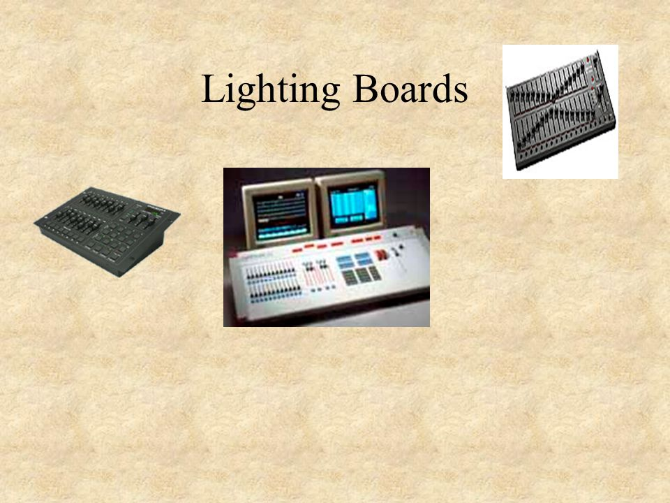 Lighting Boards