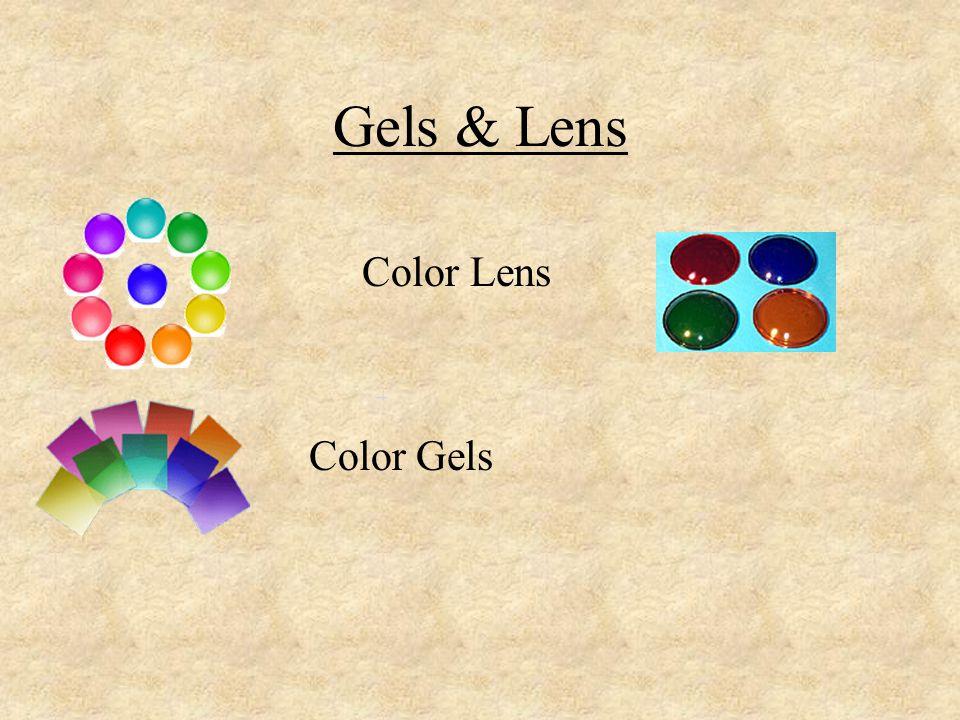 Gels & Lens Color Lens.