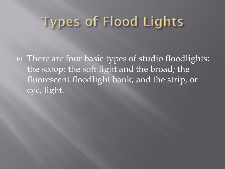 Types of Flood Lights