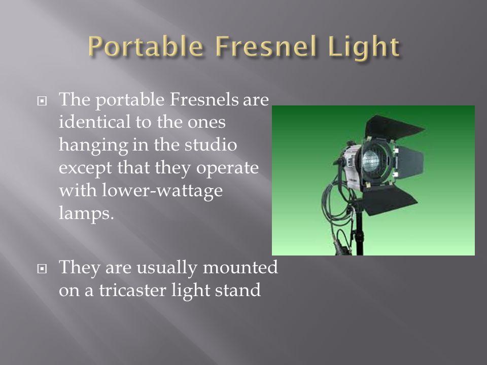 Portable Fresnel Light