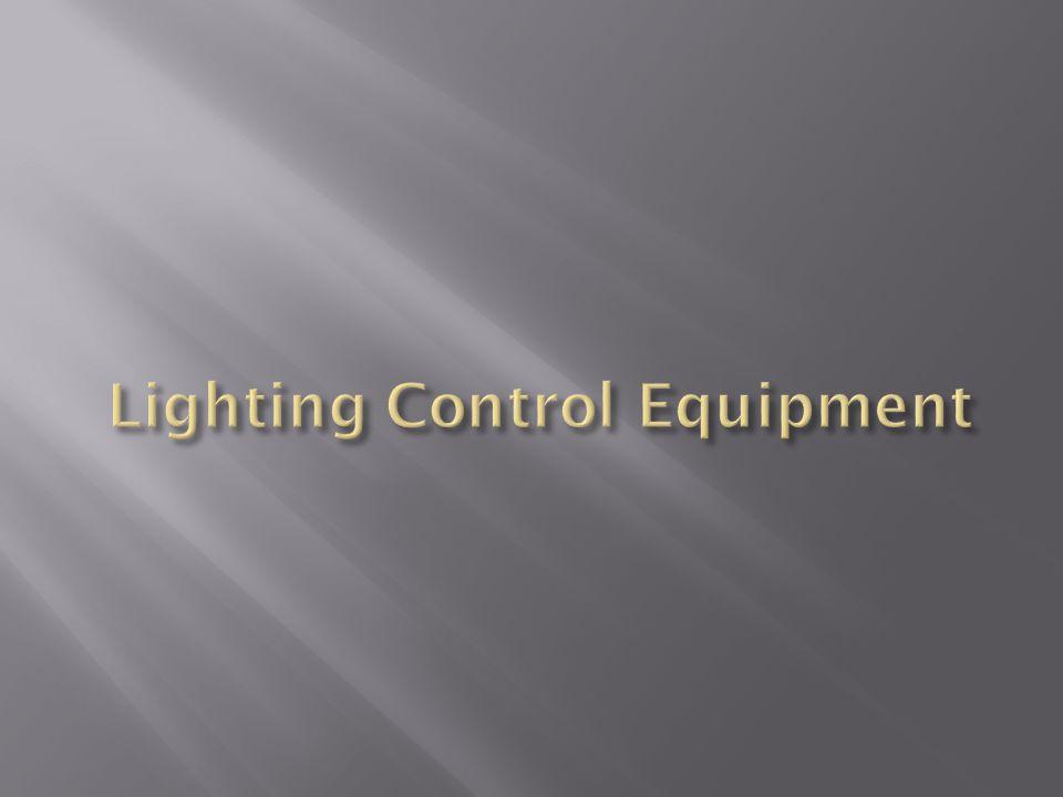 Lighting Control Equipment