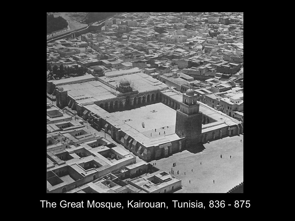 The Great Mosque, Kairouan, Tunisia, 836 - 875