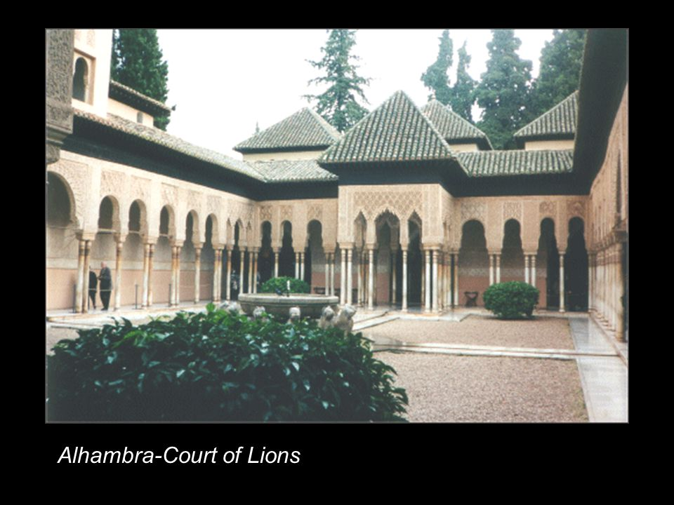 Alhambra-Court of Lions