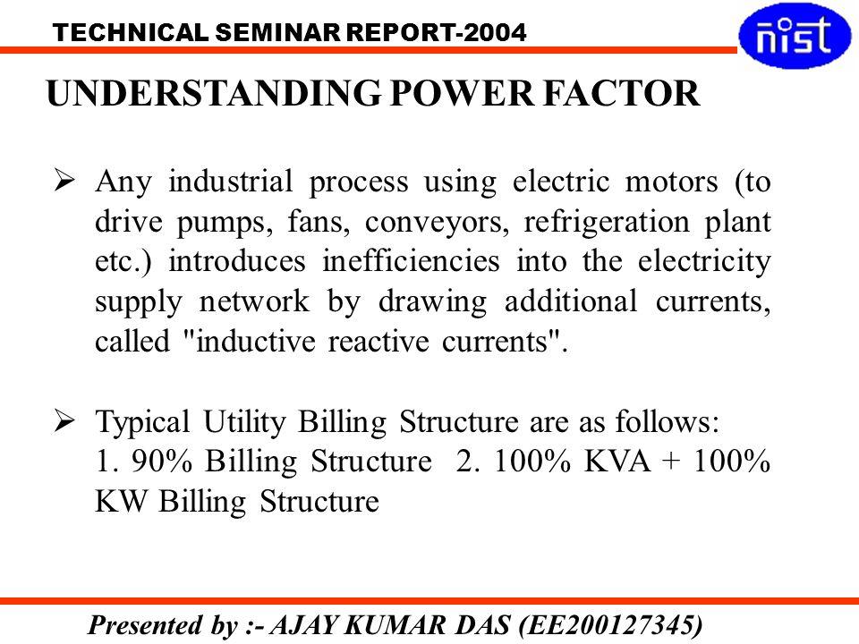 UNDERSTANDING POWER FACTOR