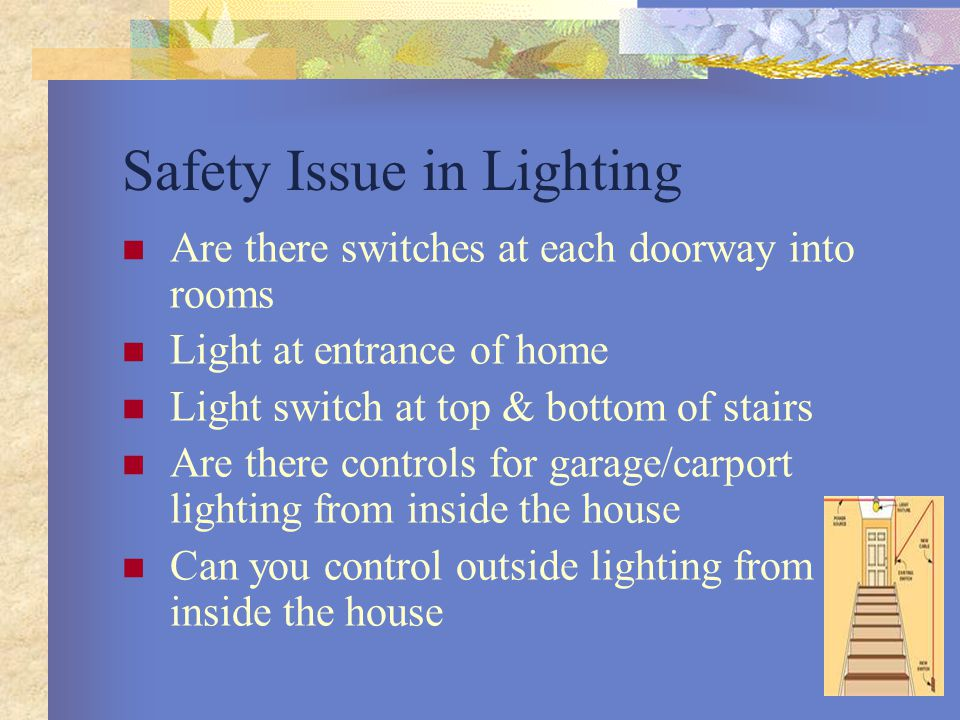 Safety Issue in Lighting