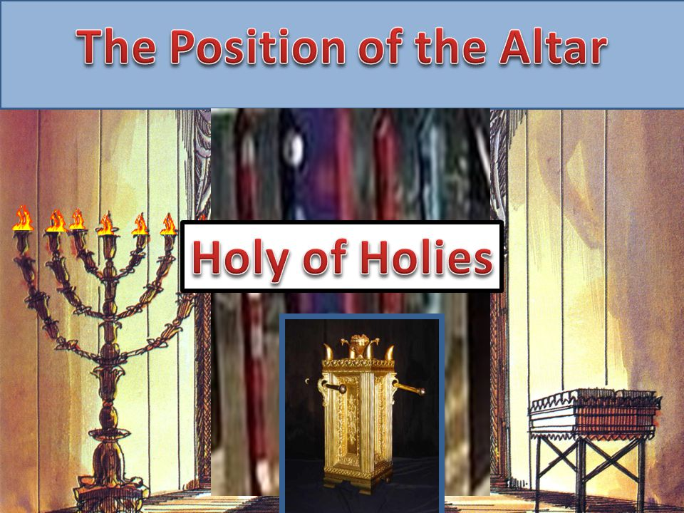 The Position of the Altar The Position of the Altar of Incense