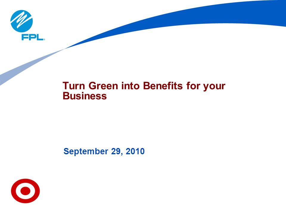 Turn Green into Benefits for your Business
