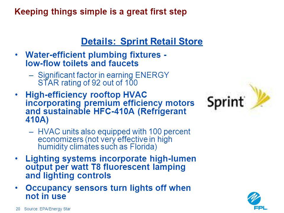 Details: Sprint Retail Store