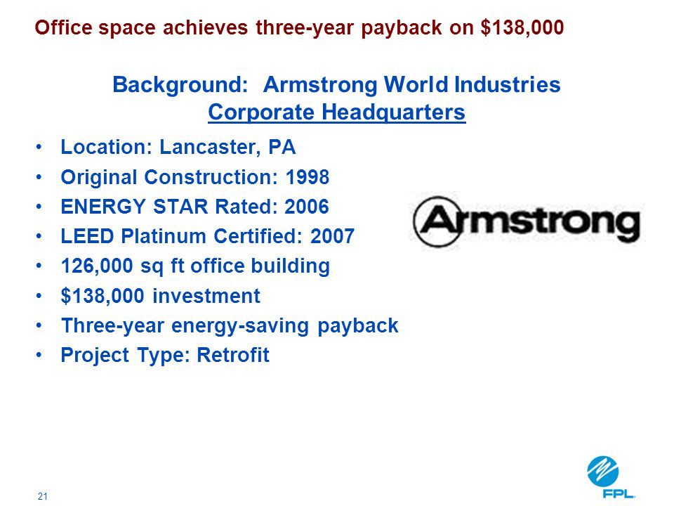 Background: Armstrong World Industries Corporate Headquarters