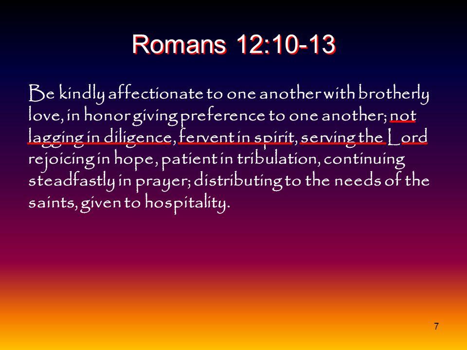 Romans 12:10-13