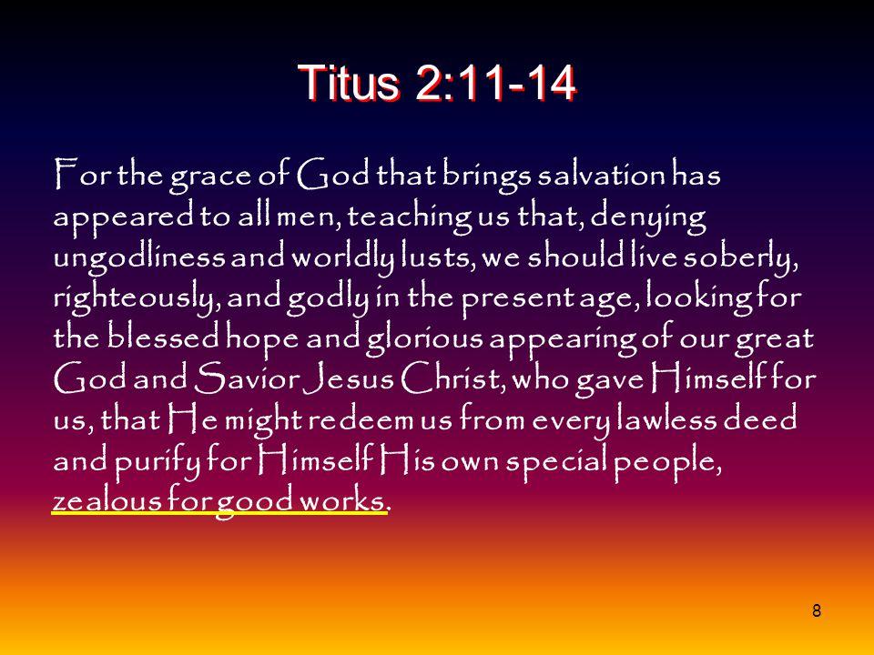 Titus 2:11-14