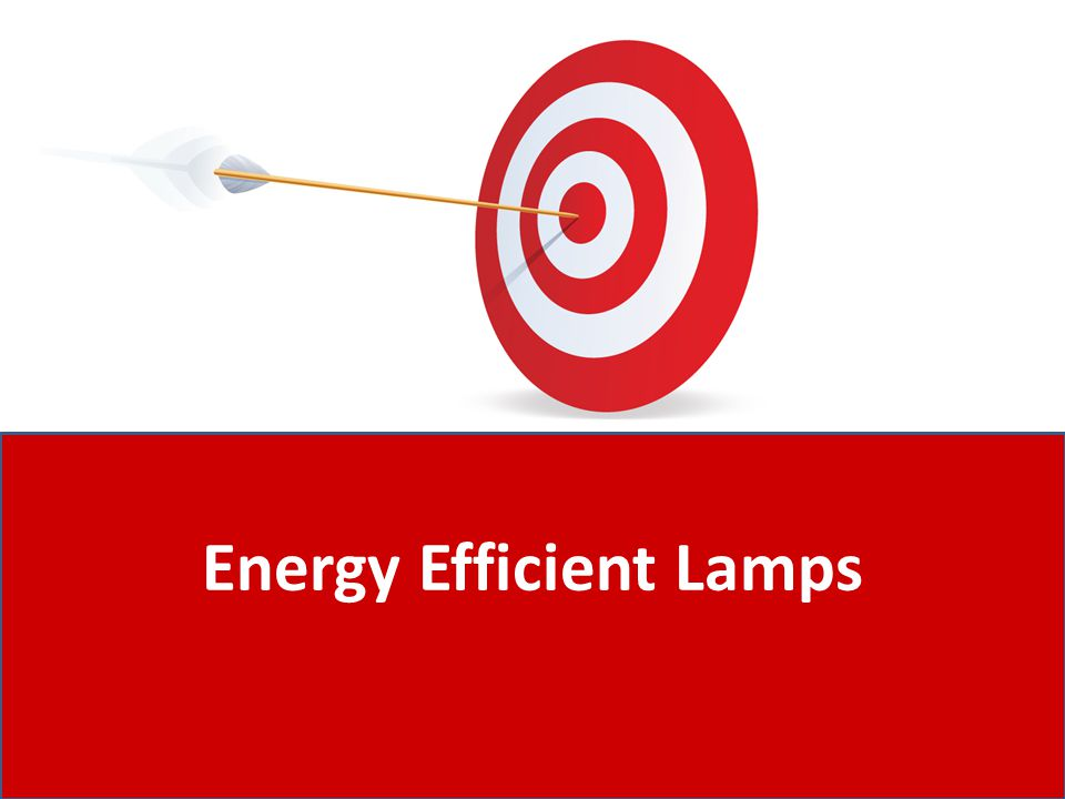 Energy Efficient Lamps