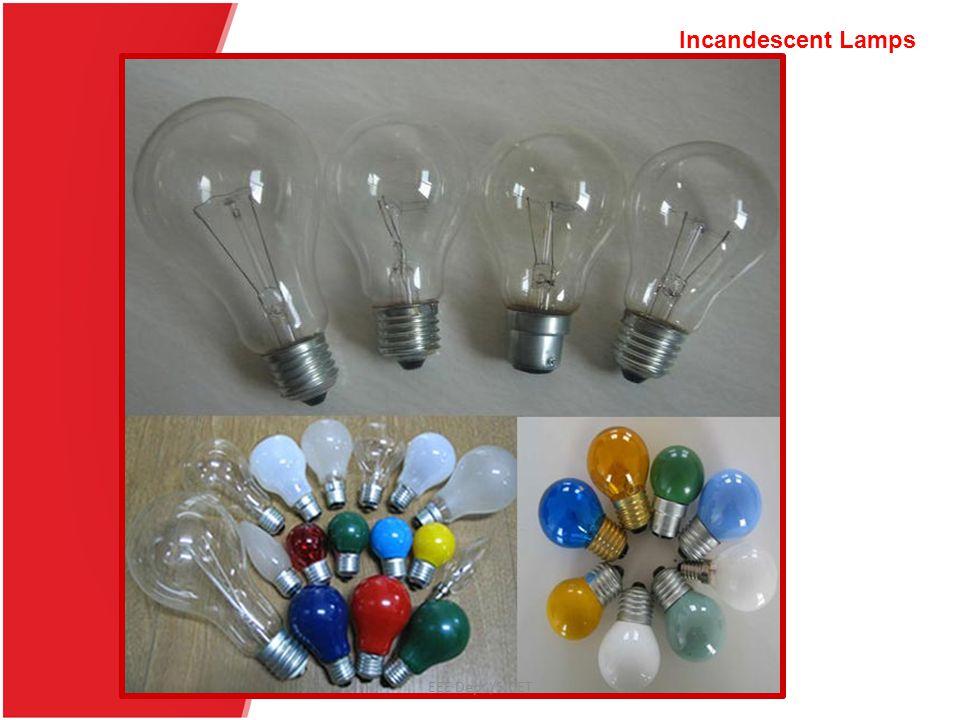 EEE Dept./SJCET Incandescent Lamps EEE Dept./SJCET
