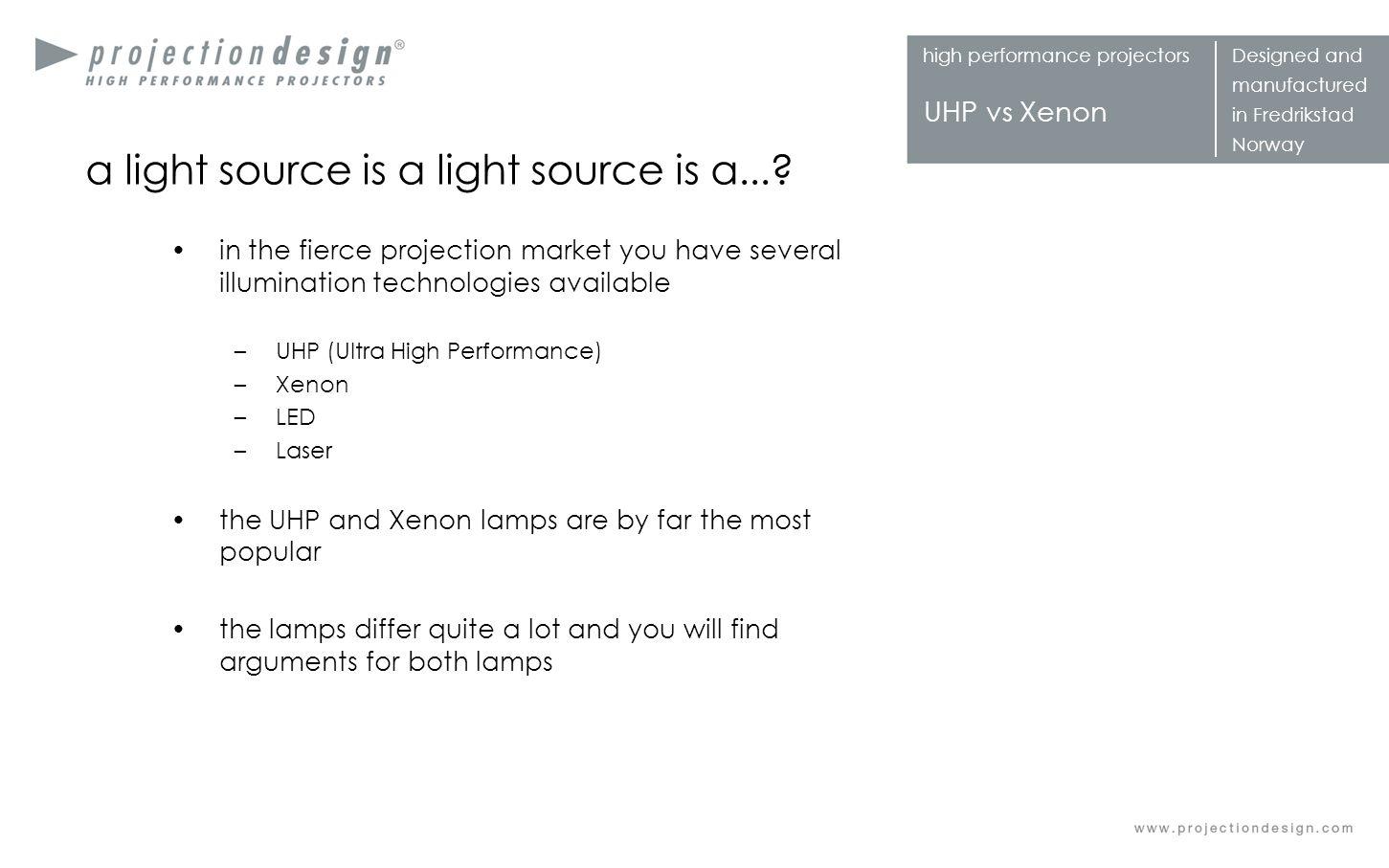 a light source is a light source is a...