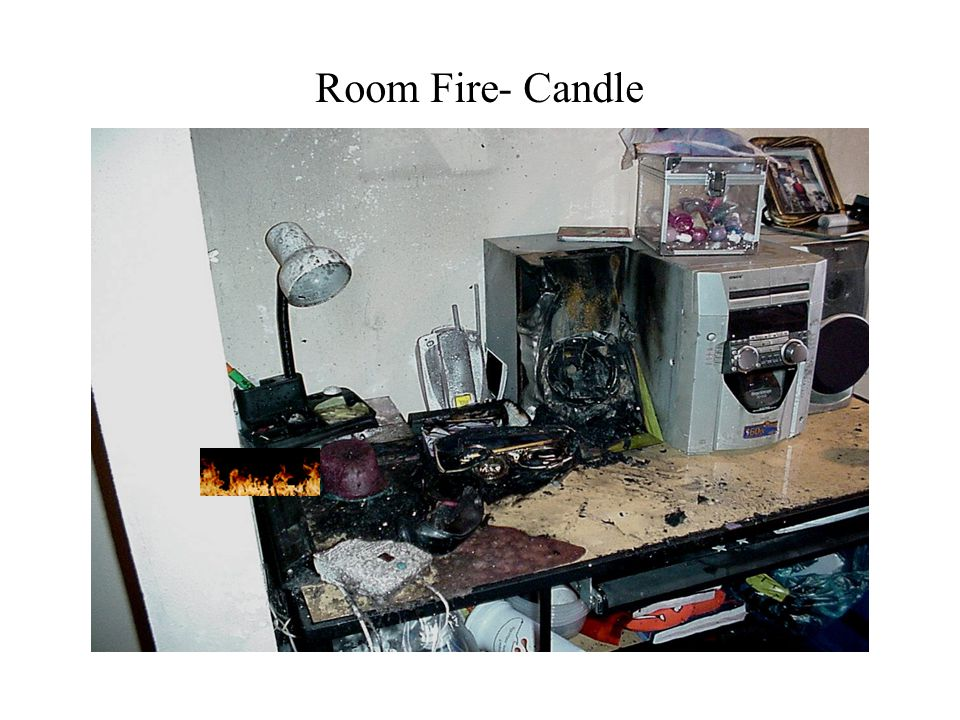 Room Fire- Candle