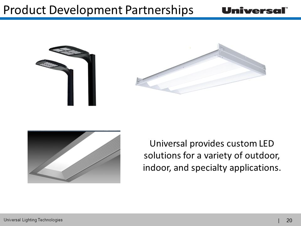 Product Development Partnerships