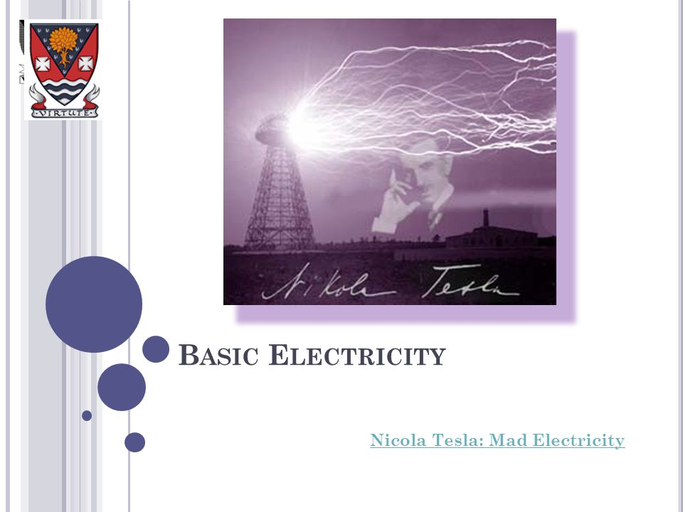 Nicola Tesla: Mad Electricity