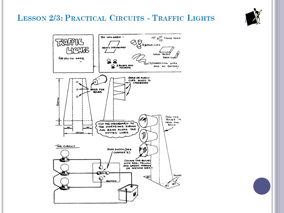 Lesson 2/3: Practical Circuits - Traffic Lights
