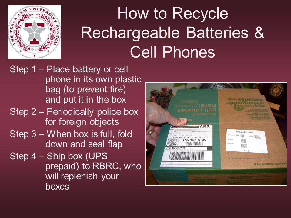How to Recycle Rechargeable Batteries & Cell Phones