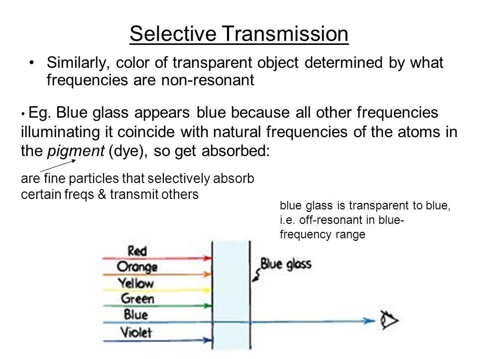 Selective Transmission