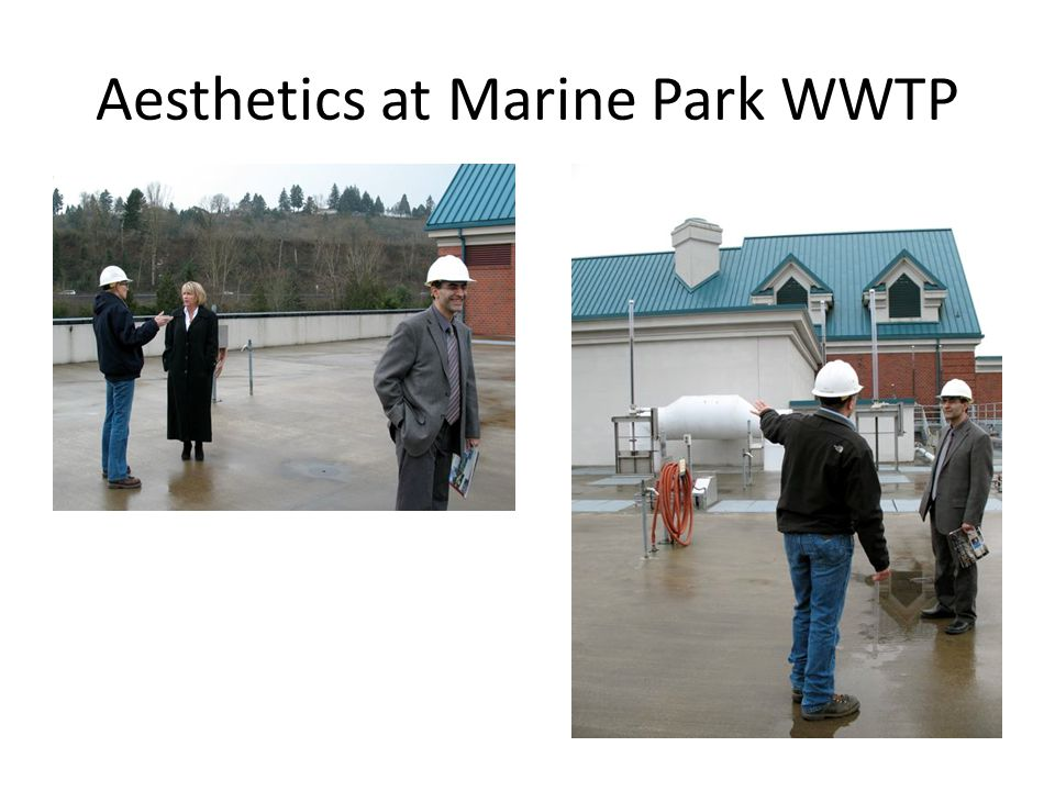 Aesthetics at Marine Park WWTP