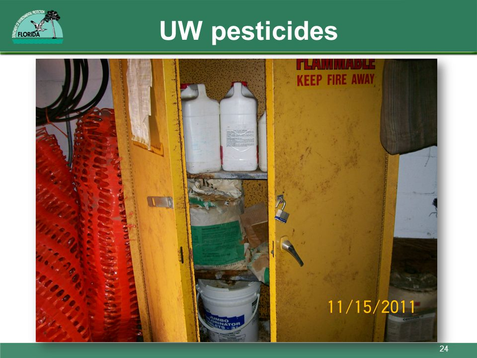 UW pesticides