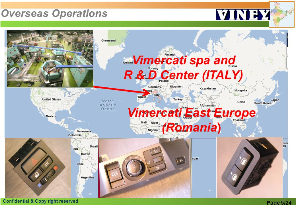 Vimercati spa and R & D Center (ITALY)