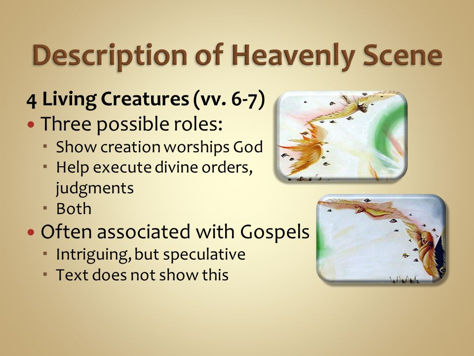 Description of Heavenly Scene