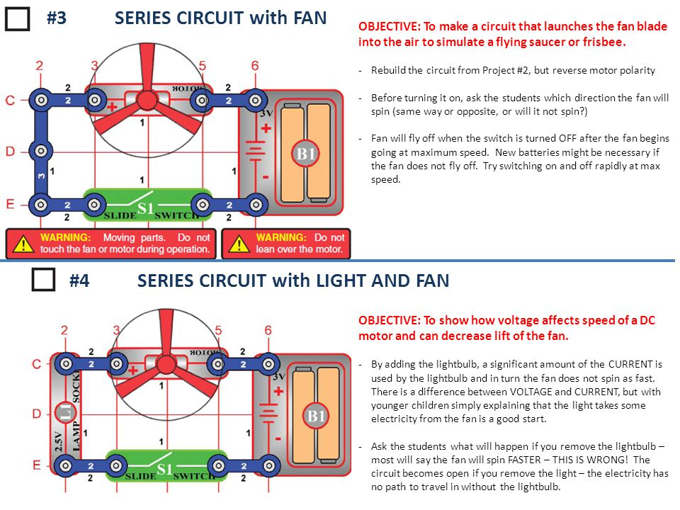 #3 SERIES CIRCUIT with FAN
