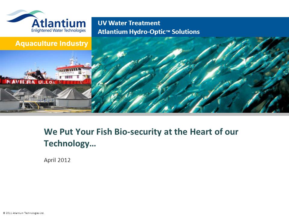 We Put Your Fish Bio-security at the Heart of our Technology…