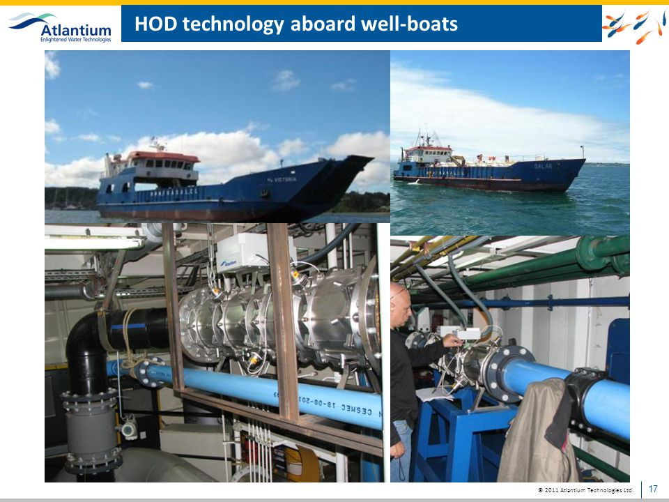 HOD technology aboard well-boats