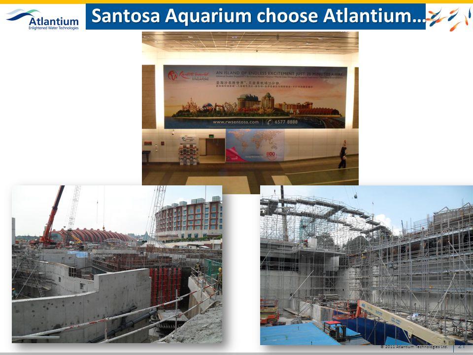 Santosa Aquarium choose Atlantium…