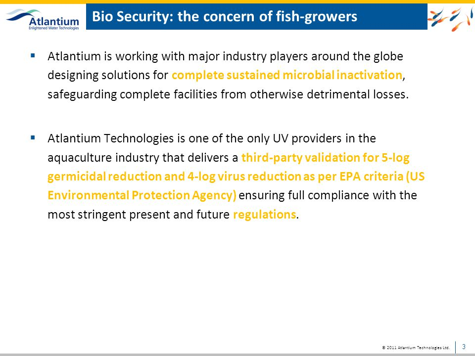 Bio Security: the concern of fish-growers