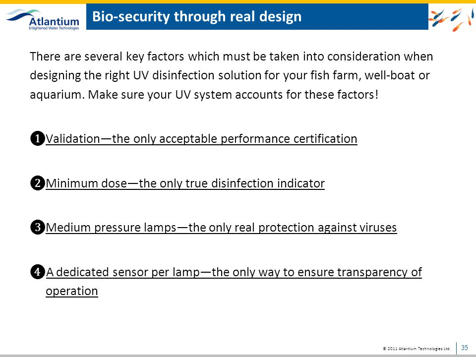 Bio-security through real design