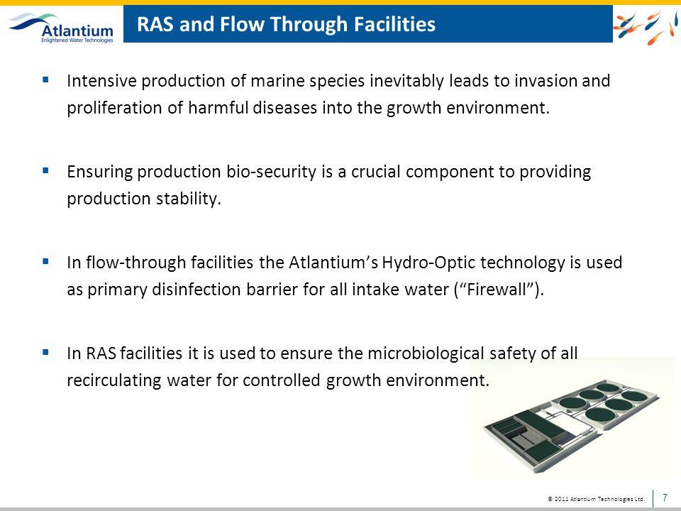 RAS and Flow Through Facilities