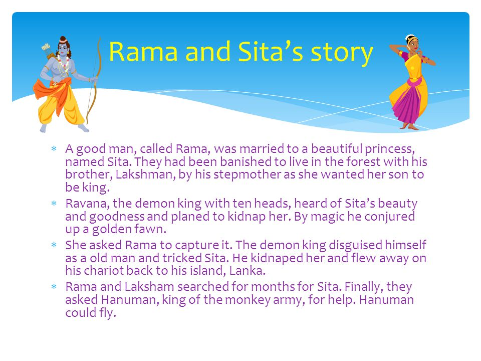 Rama and Sita's story